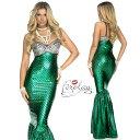 コスプレ 衣装 ForPlay フォープレイ FP 554653 マーメイド 人魚 グリーン 2点セット 正規品 コスプレ衣装 マーメイド 人魚姫 プリンセ…