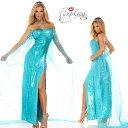 コスプレ 衣装 ForPlay フォープレイ FP 555159 雪の女王 エルサ OF50 正規品 コスプレ衣装 エルサ アナと雪の女王 大人用 コスチュー…