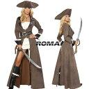 コスプレ 衣装 ROMA COSTUME ローマ RM 4242 パイレーツ 海賊 4点セット 正規品 コスプレ衣装 ジャックスパロウ パイレーツオブカリビ…