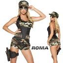 コスプレ 衣装 ROMA COSTUME ローマ RM 4332 アーミーベイブ 5点セット / OF15 正規品 コスプレ衣装 仮装 大人用 コスチューム costume…