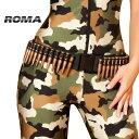 コスプレ 衣装 ROMA COSTUME ローマ ベルト RM 4387 弾丸ベルト 正規品 アーミー ミリタリー バレットベルト ブレット コスプレ コスチ…