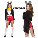 コスプレ 衣装 ROMA COSTUME ローマ RM 4624 ミスターマウス 5点セット / OF15 正規品 コスプレ衣装 マウス アニマル 大人用 レディー…