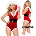 コスプレ 衣装 ROMA COSTUME ローマ RM C184 クリスマス サンタ 2点セット サンタクロース SANTA santa 正規品 コスプレ衣装 コスチュ…