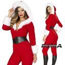 コスプレ 衣装 ROMA COSTUME ローマ RM C189 クリスマス サンタ 2点セット 正規品 コスプレ衣装 コスチューム サンタ キャットスーツ …
