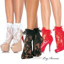 コスプレ 衣裳 LEG AVENUE レッグアベニュー ソックス LA 3030 全3色展開 正規品 コスプレ衣装 レディース 靴下 くつした フリル レー…