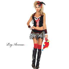 コスプレ 衣装 LEG AVENUE レッグアベニュー LA 83949 パイレーツ 海賊 3点セット / 3K 正規品 ジャックスパロウ フック 船長 キャプテン コスチューム 衣装 衣裳 仮装 かっこいい セクシー かわいい ファッション セパレート おしゃれ コーデ ハロウィン セレブ 海外