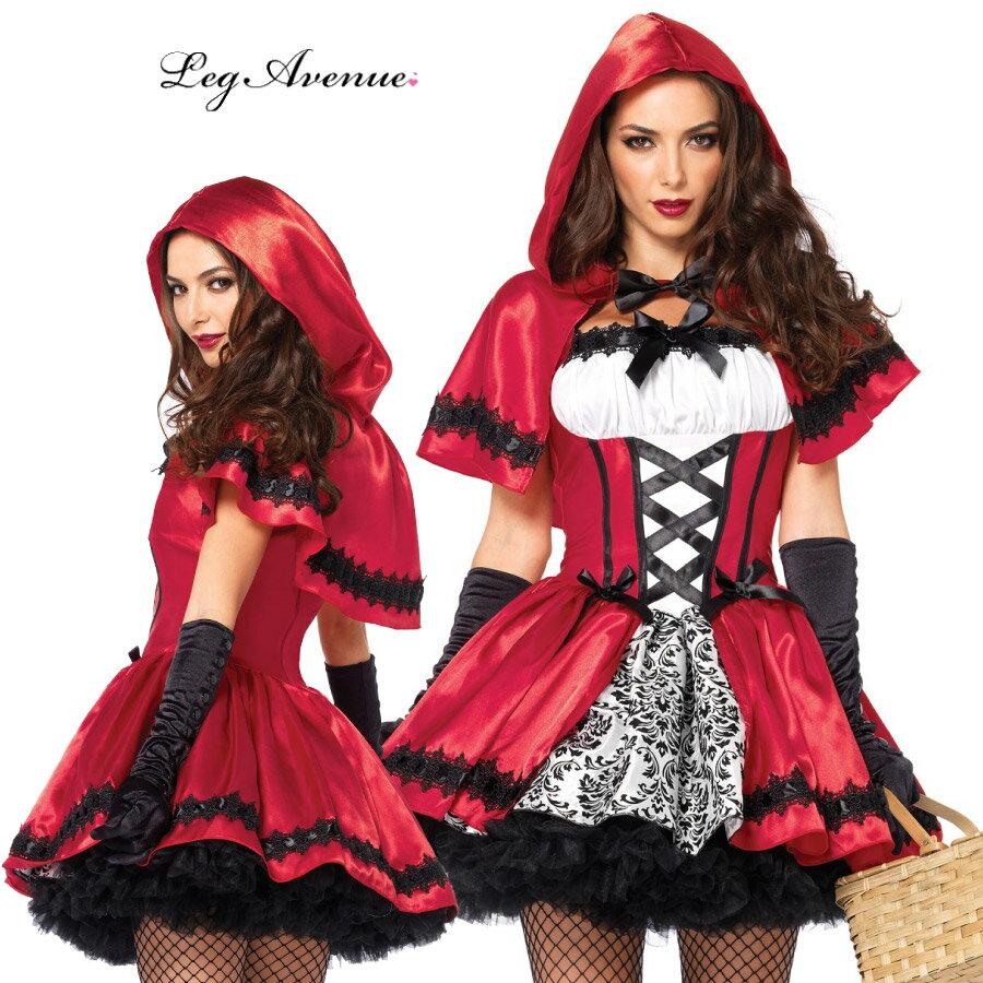 コスプレ 衣装 レッグアベニュー LA 85230 赤ずきん 2点セット 正規品 コスプレ衣装 赤ずきんちゃん プリンセス 大人用 コスチューム セクシー かわいい 衣裳 仮装 ドレス ハロウィン ハロウィーン halloween costume 海外セレブ インポート