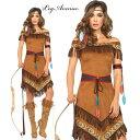 LEG AVENUE レッグアベニュー LA 85398 インディアン 4点セット 正規品 ネイティブ アメリカン 民族 コスチューム 衣装 衣裳 仮装 フリ…