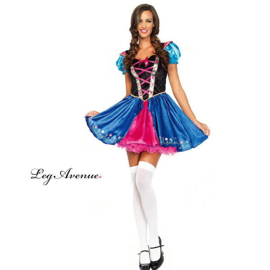 【ネット限定】 LEG AVENUE レッグアベニュー LA 85460 アナ アルペンプリンセス / 3K 正規品 アナと雪の女王 レディース フローズン 大人 コスチューム ハロウィン halloween ハロウィーン プリンセス かわいい アルプス 衣裳 仮装 costume cosplay 海外 インポート 女の子