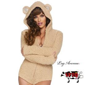 コスプレ 衣装 LEG AVENUE レッグアベニュー ルームウェア LA 86823 着ぐるみ ベアー 2019新作 正規品 Ted テッド 熊 くま クマ テディベア コスチューム 衣装 衣裳 仮装 ふわふわ セクシー かわいい エロい ファッション おしゃれ コーデ ハロウィン セレブ 海外