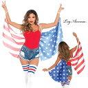 LEG AVENUE レッグアベニュー 小物 WING LA- A2797 アメリカ 国旗 正規品 コスプレ衣装 はね 羽根 つばさ 翼 星条旗 はた USA ジュディ…