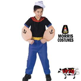 コスプレ 衣装 MORRIS COSTUME モーリス MC-FW102721LG ポパイ6点セット キッズサイズ 正規品
