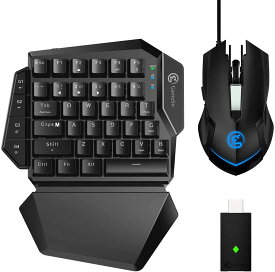 GameSir VX ゲーミングキーボード マウスセット スイッチ/PS4対応 国内正規品 Wireless Keypad and Mouse Combo VX