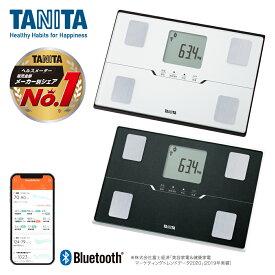 タニタ BC768 体重 体組成計 スマホ 連動 BLE 2色展開 体脂肪率 筋肉量 ホワイト ブラック