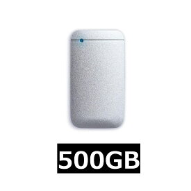 エレコム 外付け ポータブル SSD 500GB USB3.2(Gen1) TLC搭載 Type-C&Type-Aケーブル付属 データ復旧サービスLite付