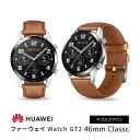 HUAWEI ファーウェイ Watch GT2 46mm Classc ぺブルブラウン