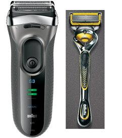 ブラウン Braun シェーバー シリーズ3 3080s-S & ジレット プロシールド 髭剃り セット