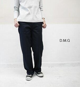 DMG Domingo 14-016T ウエポンストレッチセミワイドトラウザーパンツ D.M.G point digestion