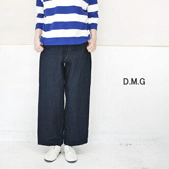 DMG 14-046C Domingo 11oz wide cropped denim underwear D.M.G point digestion