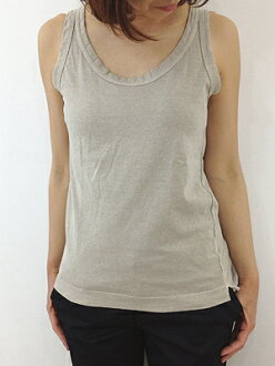 FABRIQUE en planete terre 91003 81003 ファブリケアンプラネテール Oval tank tank top no sleeve point digestion