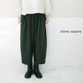 slone square 6472 スロンスクエアウールエターミンボールパンツポイント digestion