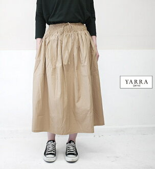 YARRA Yala YR-07-335 poplin waist tax cart lady's latest point digestion