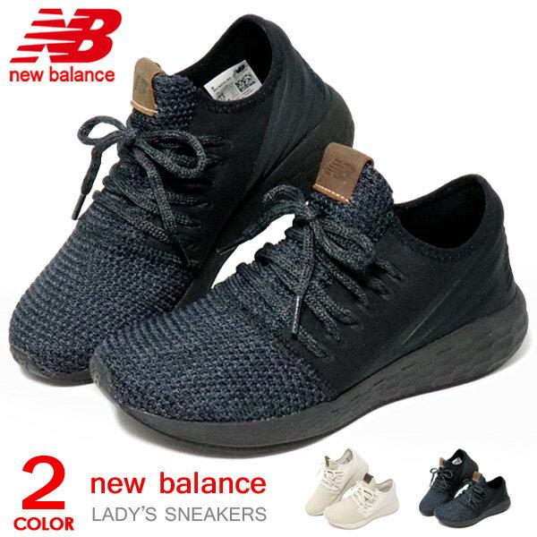 ニューバランス レディース ウォーキングシューズ スリッポン スニーカー 靴 ランニングシューズ FRESH FOAM New Balance WCRZD