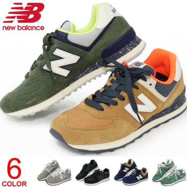 ニューバランス New Balance 574 スニーカー レディース メンズ 靴 ウォーキングシューズ ランニング ML574 送料無料
