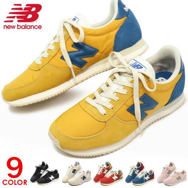 ニューバランス 220 レディース スニーカー 靴 カジュアルシューズ ウォーキングシューズ New Balance U220 WL220