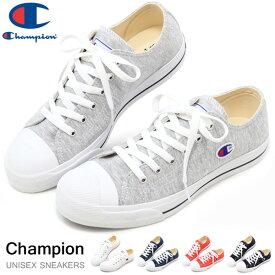 チャンピオン スニーカー レディース メンズ ローカット キャンバス シューズ 靴 Champion センターコート OX CP LC004 白 黒