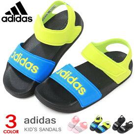アディダス adidas キッズ サンダル ジュニア スポーツサンダル ウォーターシューズ アクアシューズ 男の子 女の子 ADILETTE SANDAL K