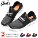 アーノルドパーマー レディース スリッポン スニーカー バブーシュ ウォーキングシューズ ランニングシューズ 軽量 靴 アーニー Arnold Palmer AN0905