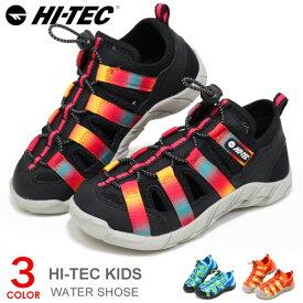 ハイテック サンダル キッズ ウォーターシューズ アクアシューズ ジュニア 子供 靴 男の子 女の子 HI-TEC KIDS HT KID21