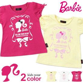 バービー Tシャツ 半袖 キッズ ベビー 半袖シャツ 子供服 女の子 ベビー服 キャラクター Barbie 342177010