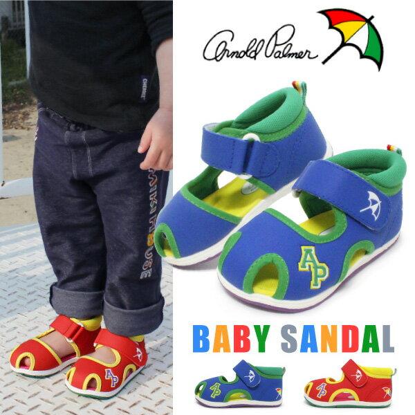 アーノルドパーマー ベビーサンダル キッズ ベビー サンダル 男の子 女の子 子供 靴 Arnold Palmer AP4182
