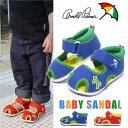 ベビーサンダル キッズ アーノルドパーマー 男の子 女の子 サンダル 靴 おしゃれ かわいい AP4182 キッズサンダル