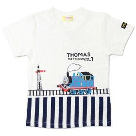 トーマス_半袖Tシャツ_ホワイト