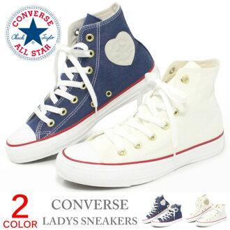 CONVERSE CHUCKS SISTERS ALL STAR V-RIBBONS SLIP OX女士Converse全明星低切運動鞋V發帶的女式無袖内衣OX 5C1368 5C1370