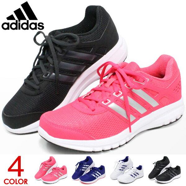 アディダス ランニングシューズ レディース スニーカー ウォーキングシューズ カジュアル 靴 adidas DURAMOLITE W