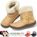 ミッキーマウス ブーツ キッズ ショートブーツ ベビー 女の子 ディズニー ミニーマウス C1198 おしゃれ かわいい