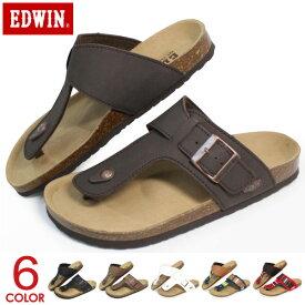 EDWIN サンダル メンズ トングサンダル コンフォートサンダル フラットサンダル ビーチサンダル エドウィン EW9123