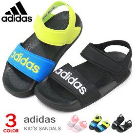アディダス adidas サンダル キッズ ジュニア スポーツサンダル ウォーターシューズ アクアシューズ 男の子 女の子 ADILETTE SANDAL K
