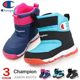 チャンピオン スノーブーツ キッズ ブーツ ジュニア 靴 防水 雪靴 雪遊び 男の子 女の子 子供靴 Champion Jr SPLASH COURT JSC014W
