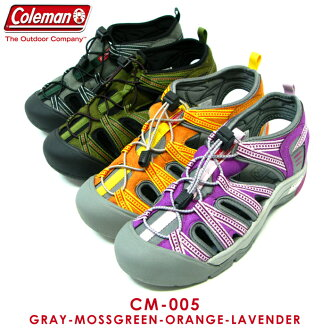 Coleman 科尔曼户外女鞋运动凉鞋厘米-005