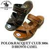 凉鞋女士 pettanko pettanko 可爱舒适滑软圣塔芭芭拉马球 & 网球俱乐部 3006