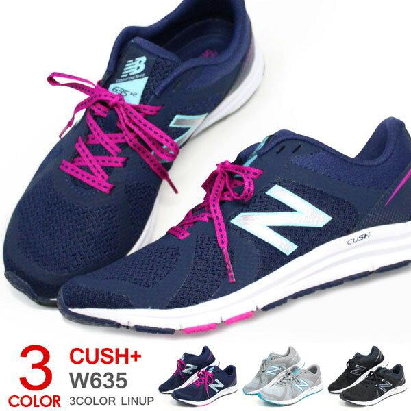 ニューバランス ランニングシューズ レディース スニーカー ウォーキングシューズ ひも靴 運動靴 New Balance W635