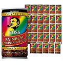 【6213】【数量限定】SUNTORY BOSS サントリー ボスボス レインボーマウンテンブレンド185g缶×30本(1ケース)【送料…