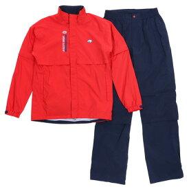 フィドラ(FIDRA) ゴルフウェア メンズ レインウェア 上下セット FA160940 RED (B) 付属品:B (Men's)