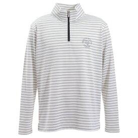 エピキュール(epicure) ゴルフウェア メンズ ボーダーハーフジップシャツH9 151-21920-010 (メンズ)