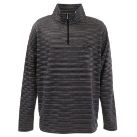 エピキュール(epicure) ゴルフウェア メンズ ボーダーハーフジップシャツH9 151-21920-099 (メンズ)